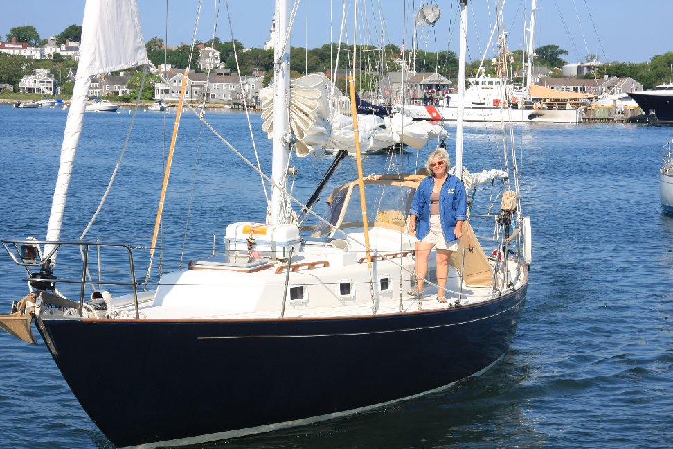 Lin taking charge in Nantucket Harbor
